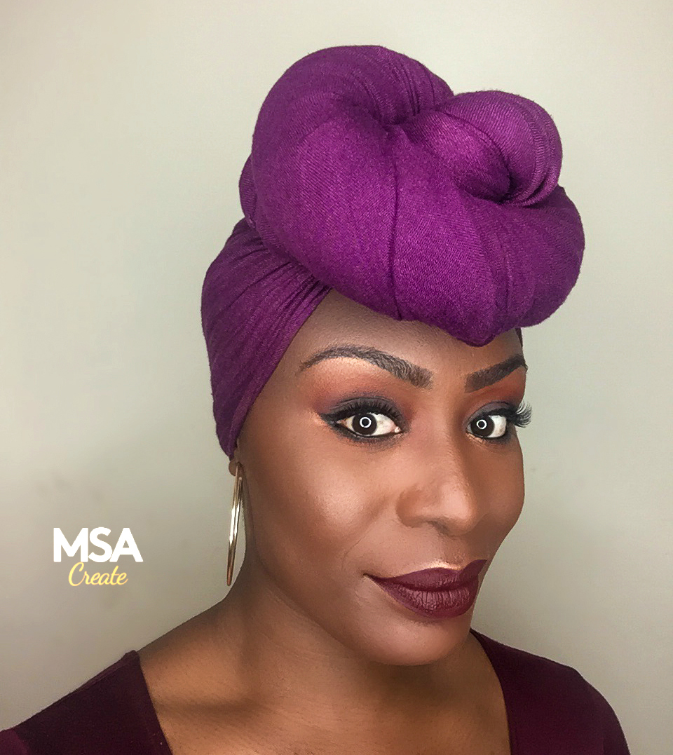 HOW TO CREATE A HEAD TIE/WRAP